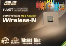 Micro WLAN Adapter USB 150Mb ASUS USB-N10 NANO Wi-Fi 802.11b/n/g