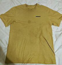Mens patagonia t shirt large yellow