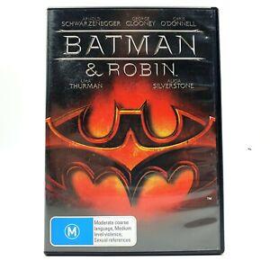 Batman & Robin (DVD, Region 4, 1997)