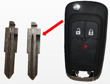 2 New Flip Remote Key Entry Replacement Blade Blank Uncut For Gm Chevy Spark