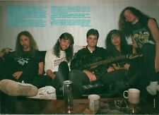 METALLICA with Donny Osmond 1989 magazine PHOTO/ Poster/clipping 11x8 inches