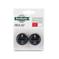 PetSafe Replacement 6 Volt Batteries Package of 2 RFA-67D-11