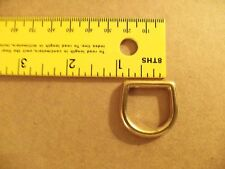 "Solid Brass Cast D Rings (3/4"", 1"", 1 1/4"", 1 1/2"")"