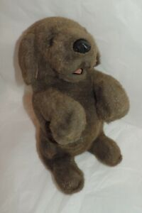 FOLKMANIS Chocolate Lab Dog Puppet - LG Size/Excellent Condition/From NS Home