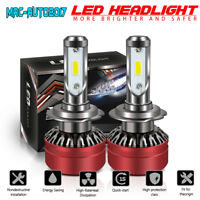TURBO H7 COB LED Headlight Bulbs for Mercedes-Benz B200 C230 C240 C250 C300