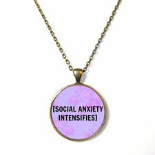 Pastel Goth 90s Soft Grunge Creepy Cute Bubblegum Nu Goth Antisocial necklace