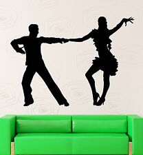 Wall Decal Latin Dance Coolest Room Decor Vinyl Stickers Art Mural (ig2590)