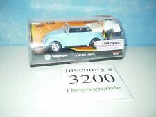 New 1997 New Ray 1:43 48489 Baby Blue Volkswagen Convertible 51' VW1200 Die Cast