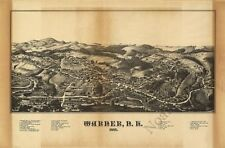 Warner Nh panorama c1887 repro 30x20