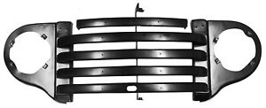 1948 1949 1950 Ford Pickup Truck Steel Grill Assembly w/trim mounting holes
