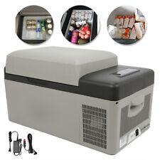 Portable 21QT Car Fridge Freezer Cooler Mini Refrigerator 12V/24V LG Compressor