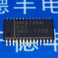 1PCS MAX7456EUI Single-Channel Monochrome On-Screen Display with EEPROM