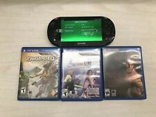 Sony PS Vita PCH-2001 No Charger 3 Games Included And 1 32gb Sony Original Chip