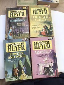 Georgette Heyer Vintage Paperbacks Used Pan Books