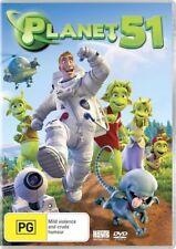 Kids Animation Alien Movie - Planet 51 (DVD, 2010) REGION 4