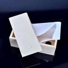 Loaf Soap Mould Rectangle Silicone Molds with Wooden Box Swirl Making Tools Mold