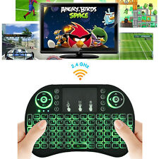 New Wireless 2.4Ghz Keyboard Remote Backlit Mouse For Raspberry Pi PC Android