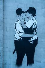 Banksy In Brighton by Chris Lord Photo Art Print Poster 24x36 inch