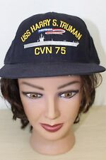 USS Harry S Truman CVN 75 Baseball Trucker Cap Hat Snapback