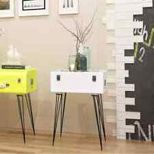 Side Cabinet Telephone Stand Suitcase Style 40x30x57 Cm White