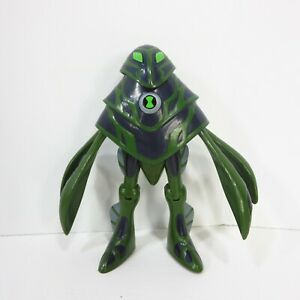 "Ben 10  Ampfibian 4"" Action Figure Ultimate Alien [Haywire] Cartoon Network"