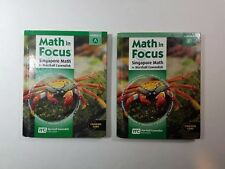 Math in Focus Grade 7 Textbook Set Course 2A and 2B Common Core Singapore Math