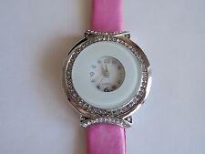 Quarz - (automatische) Armbanduhren mit Silikon -/Gummi-Armband für Damen