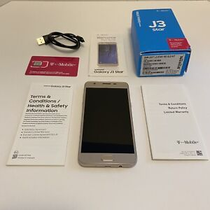 Samsung Galaxy J3 Star SM-J337T - 16GB - Gold (T-Mobile) Unlocked B stock