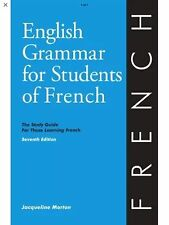 English Grammar For Students Of French - Jacqueline Morton