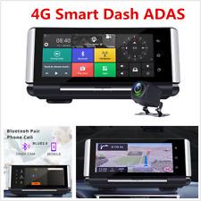 """Consolas de centro de coche DVR FHD Android 7"""" 4G Wifi Adas Grabadora de conducción lente dual"""