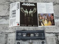 DOKKEN - Tooth and Nail  (UK)  /Cassette Tape Album /2224