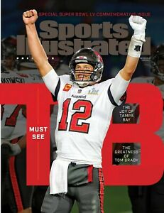 Sports Illustrated 2021 Super Bowl LV Commemorative Issue Buccaneers TOM BRADY