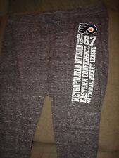 NHL WOMENS PHILADELPHIA FLYERS BLACK TEE PANTS