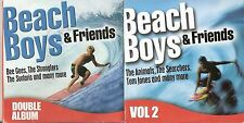 BEACH BOYS & FRIENDS - 2 DISCS - SUNDAY MIRROR PROMO MUSIC CD
