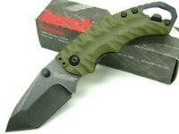Kershaw 8750TOLBW OD Green Shuffle II Straight Stonewash Folding Pocket Knife