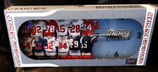 NFL NEW ENGLAND PATRIOTS THROWBACK JERSEY EVOLUTION CLOCK NIB