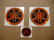YZF R1 or R6 silicone 3D gel emblems gas tank stickers badges logo r125 fazer