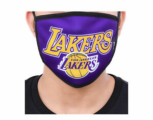 Pro Standard NBA Los Angeles Lakers Face Covering Mask - 2 Pack BLL751489-PUR