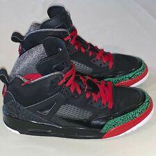 d25c74a12b93f6 Mens Size 12 Jordan Spizike Basketball Shoes Black   Red   Green