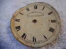 Specially Examined Swiss Made 79-9S Pocket Watch Face Best Patent Lever