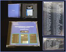 Roland PN-JV80-05 Contemporary Composer card for JV-1080, JV-2080, JD-990 etc