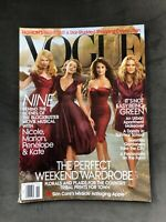 Vogue US November 2009 Nicole Kidman, Marion Cotillard, Penelope Cruz, Kate Huds