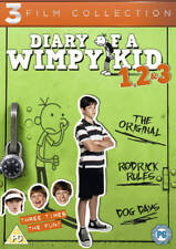 Diary of a Wimpy Kid 1, 2 & 3 DVD (2013) Zachary Gordon ***NEW***