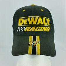 Dewalt Racing 17 Black Snapback Adustable Baseball Hat or Cap Matt Kenseth d1b8bb739620