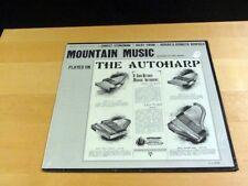 Sealed ERNEST STONEMAN Mountain Music Played On The Autoharp FOLKWAYS FA2365
