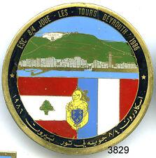 3829 - INSIGNE OPEX ESC 8/4 JOUE LES TOURS BEYROUTH 1986