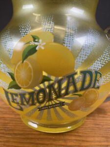 Scentsy Full Size Lemonade Pitcher Fragrance/Wax Warmer Discontinued