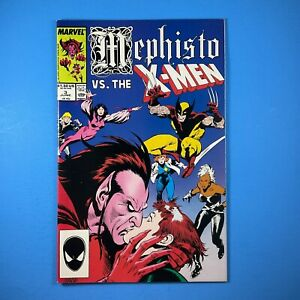 Mephisto vs. Uncanny X-Men #3 Marvel Comics 1987 Limited Series Rogue Wolverine