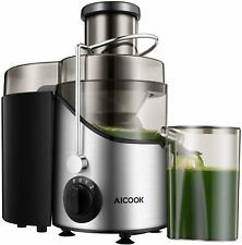 Juicer Extractor, Aicook 2020 Upgrade Centrifugal Juicer 3' Wide Mouth Amr526