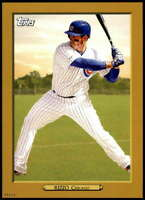 Anthony Rizzo 2020 Topps Turkey Red 2020 5x7 Gold #TR-25 /10 Cubs
